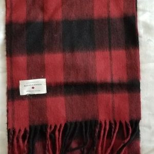 Roots Plaid Scarf